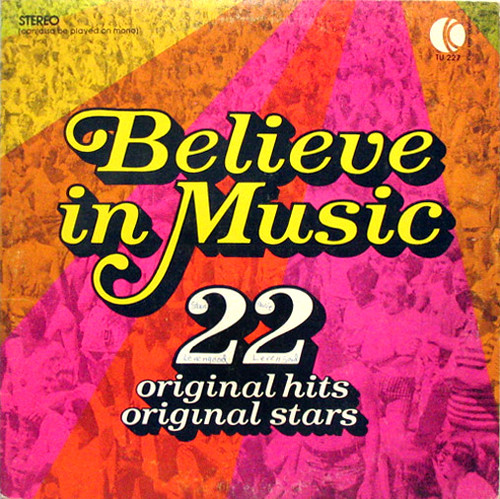 Believe in music k tel 1972 side one brandy you re a