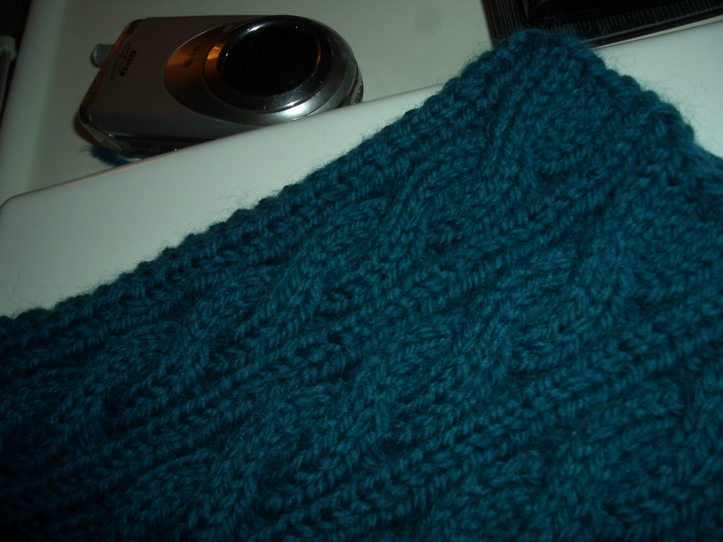 Knitting Jobs Ireland : Knitting wip irish hiking scarf the start of my