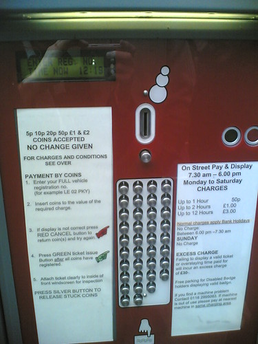 Badly Designed Parking Meter | by nedrichards