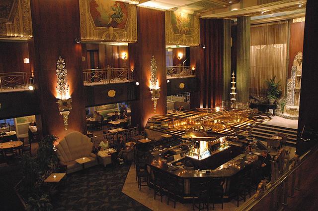 Cincinnati palm court restaurant i 39 m not sure where this flickr for Deco resto