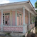 Adjuntas, Puerto Rico - Final de la casa rosa
