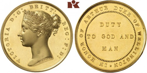 Lot 3183: Victoria, 1837-1901. Goldmedaille
