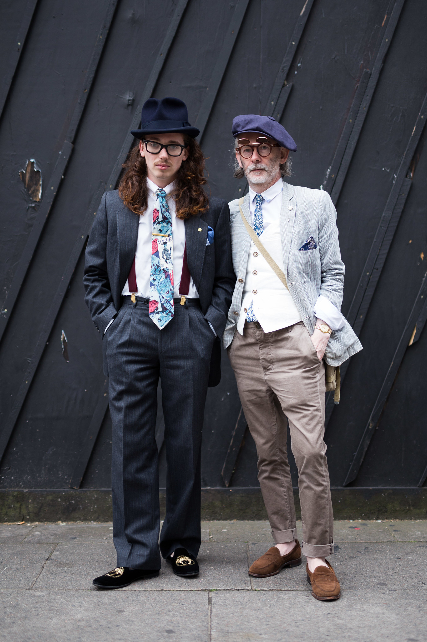 Street Style - Harry J Bartlett & Robert J Railton, London Collections: Men