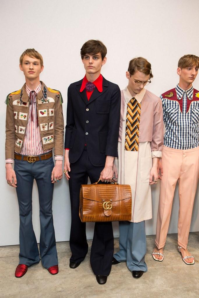 SS16 Milan Gucci249_Emil Hamkens, Charlie Adshead, Kristians Laizans, Tom Gaskin(fashionising.com)