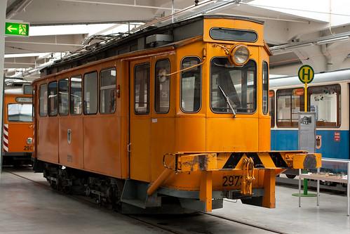 Rangiertriebwagen 2973, umgebaut aus einem G-Wagen