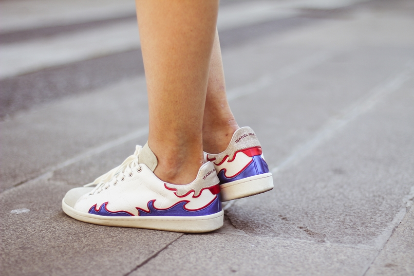 Gilly isabel Marant sneakers streetstyle myblueberrynightsblog