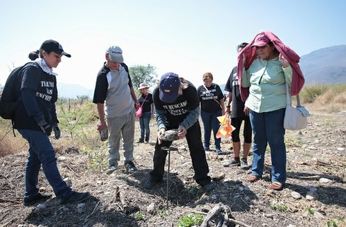 Especialistas de CIDH recorren sede policial de Iguala