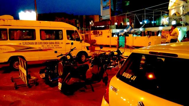 Van for charitable purpose by Gurudwara