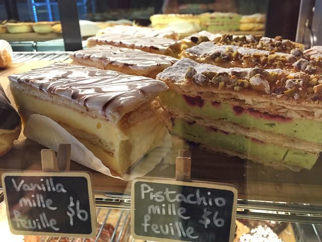 Vanilla slice: St Malo Bakery