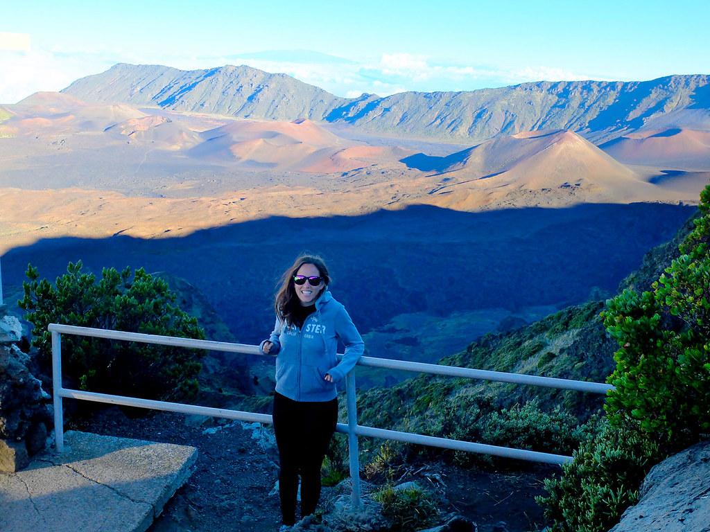 Le sommet du volcan Haleakala