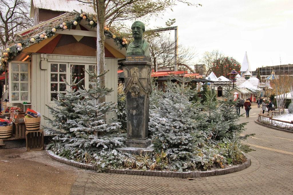 Tivoli Gardens, Christmas, Copenhagen Denmark