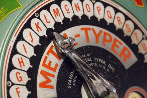 Metal Typer