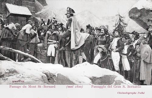 Passage du Mont St.-Bernard (mai 1800)