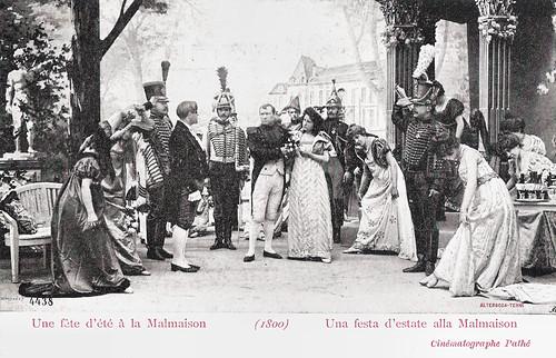 Une fête d'été à la Malmaison (1800)