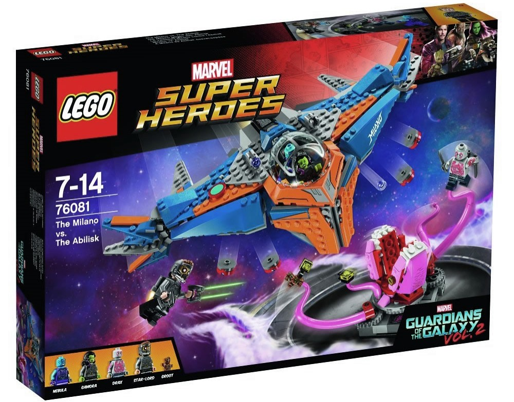 LEGO Marvel Super Heroes 76081 - The Milano vs. The Abilisk