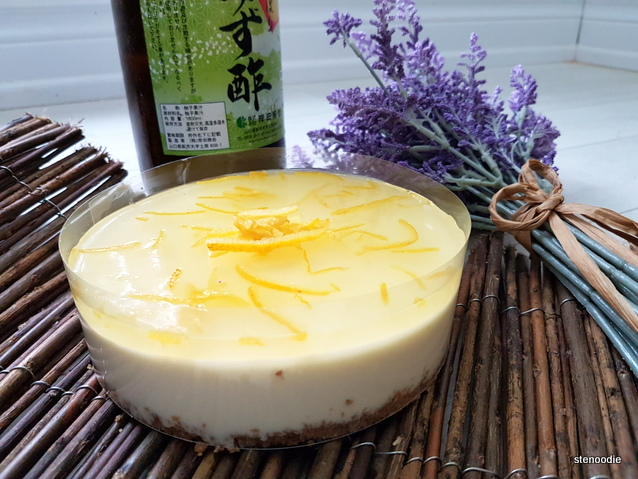 Yuzu No Bake Cheesecake