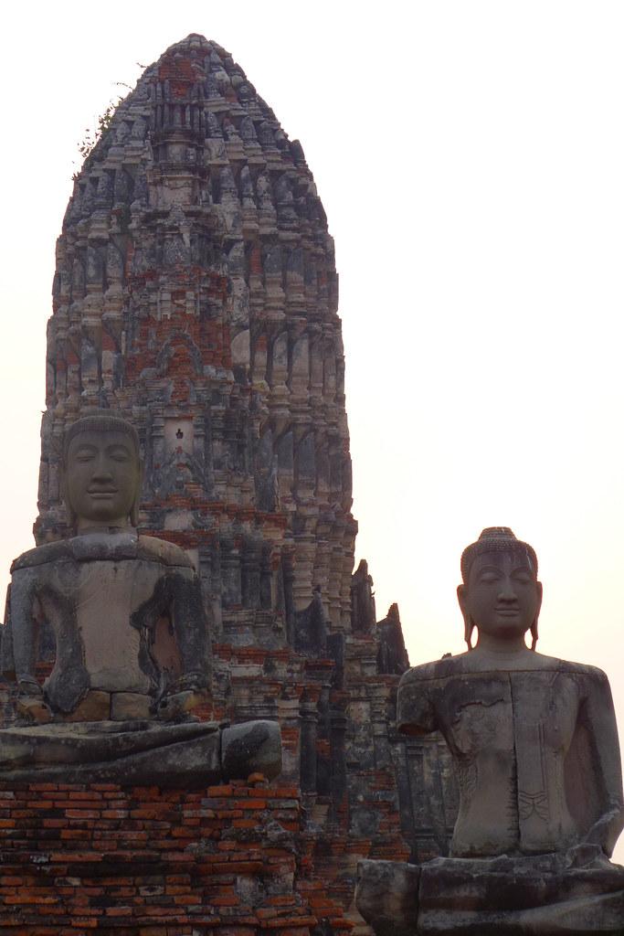 Thaïlande - Ayutthaya - 153 - Wat Chaiwatthanaram