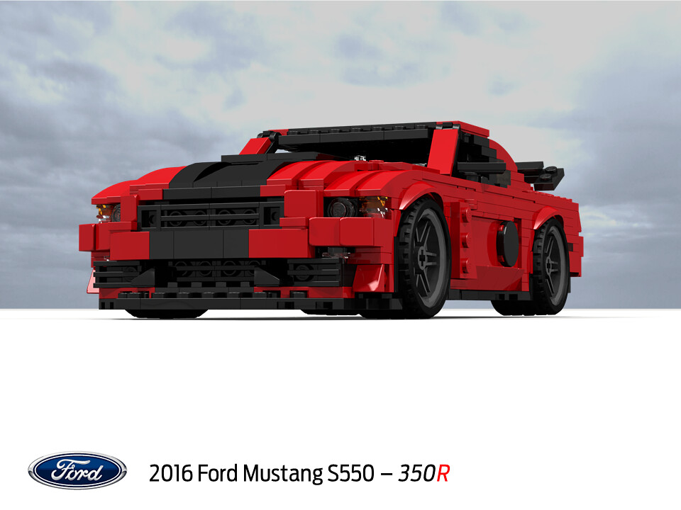 Ford Mustang Shelby Gt 350r S550 2016 The Sixth
