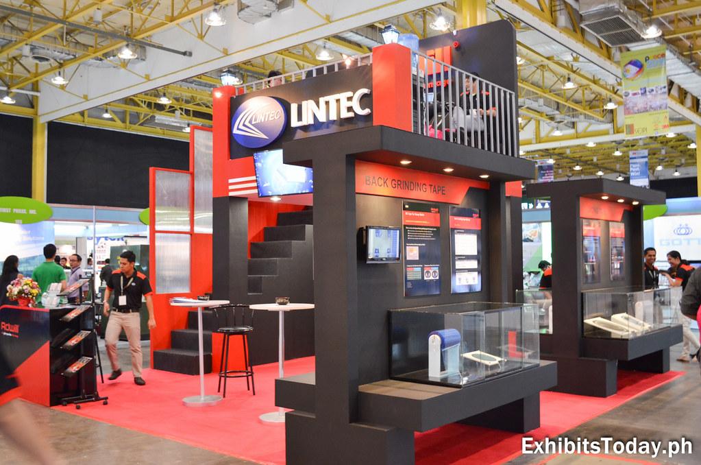 Lintec Exhibit Stand