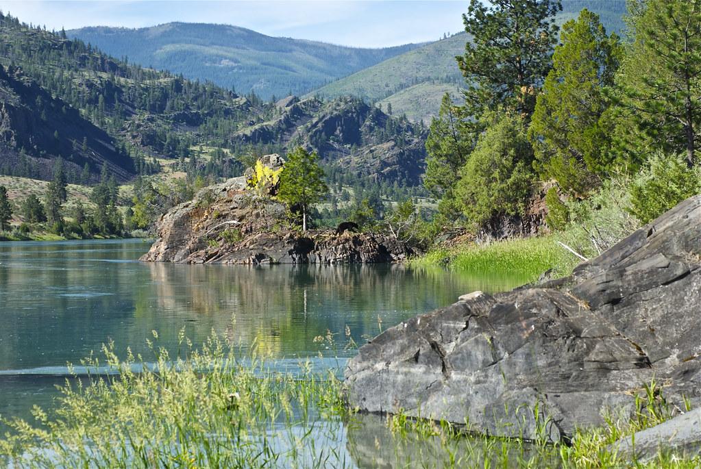 Flathead River scene