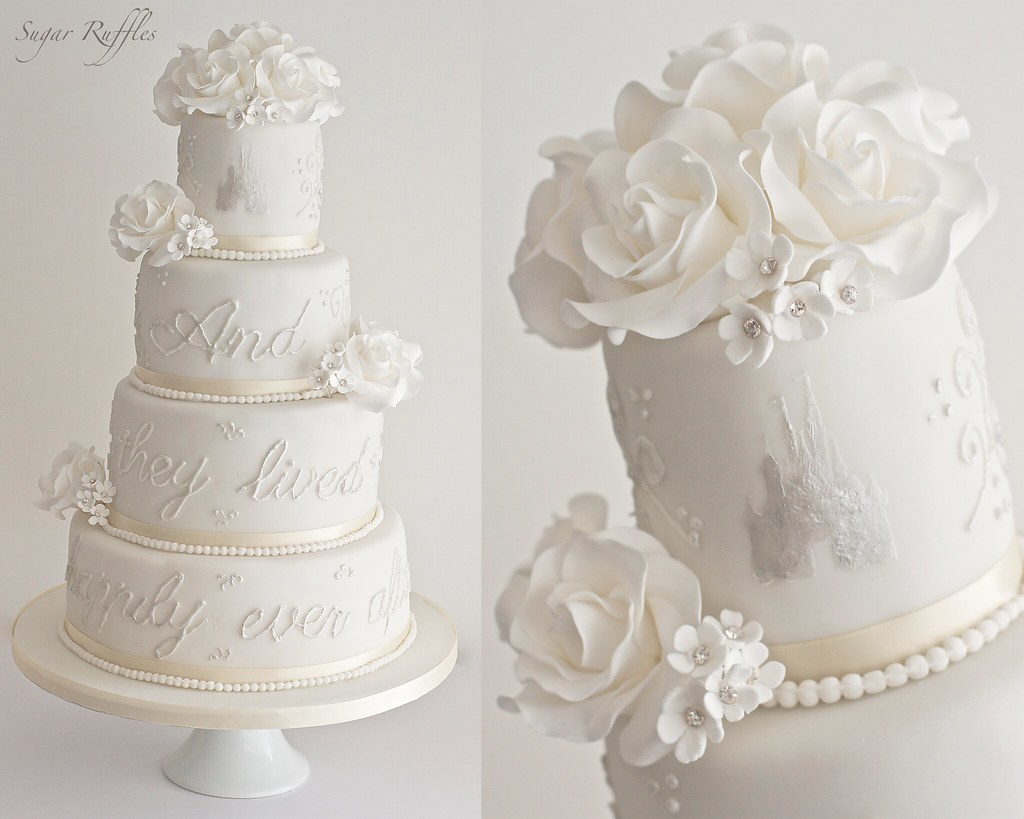 fairytale wedding cake   Charlotte   Flickr