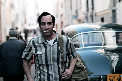 Jean-Marc as Jack Kerouac.