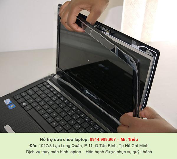Người dùng muốn vệ sinh và thay màn hình laptop cần đến trung tâm nào ở TP.HCM
