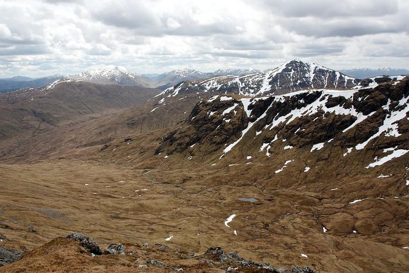Crianlarich hills and Ben Challum
