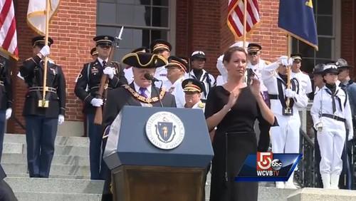 Boston time capsule ceremony1