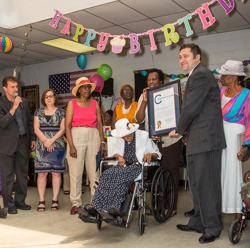Miss Susie's 116th Birthday Party Celebration At Vandalia …