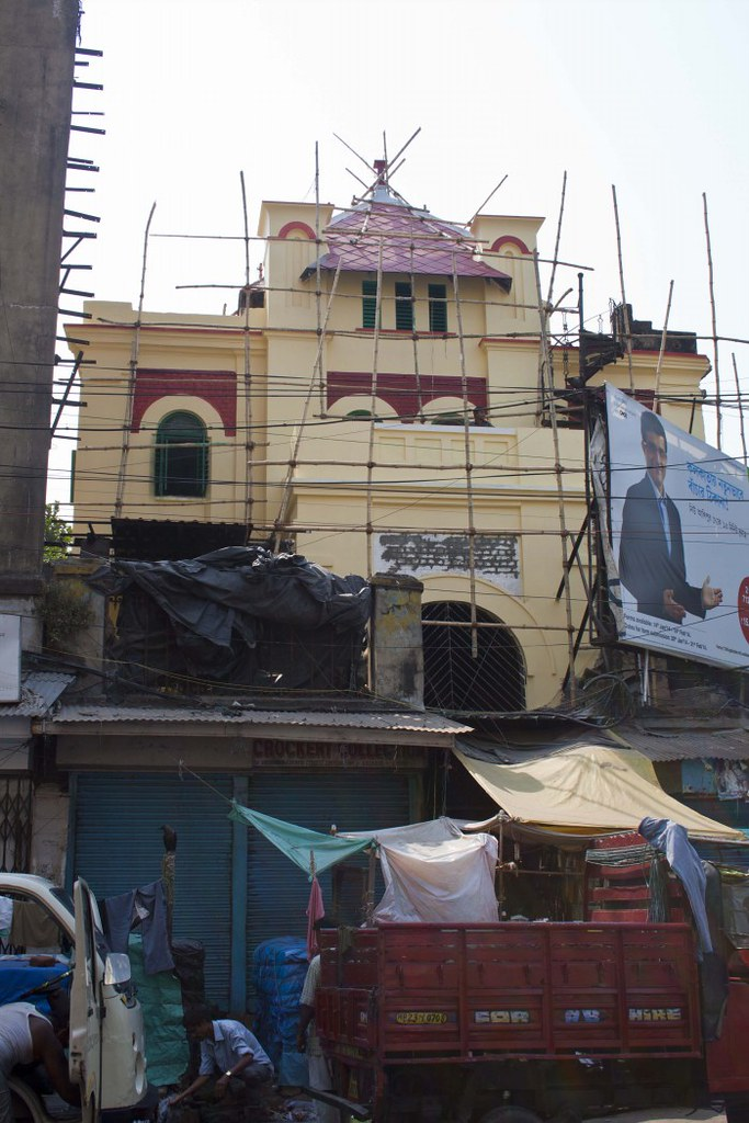 Neveh Shalome Synagogue during Renovation in 2014 - Kolkata, India