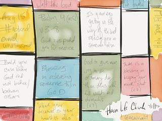 #BibleStudy #sketchnote from @HaveLifeChurch #CLT | by ARJWright