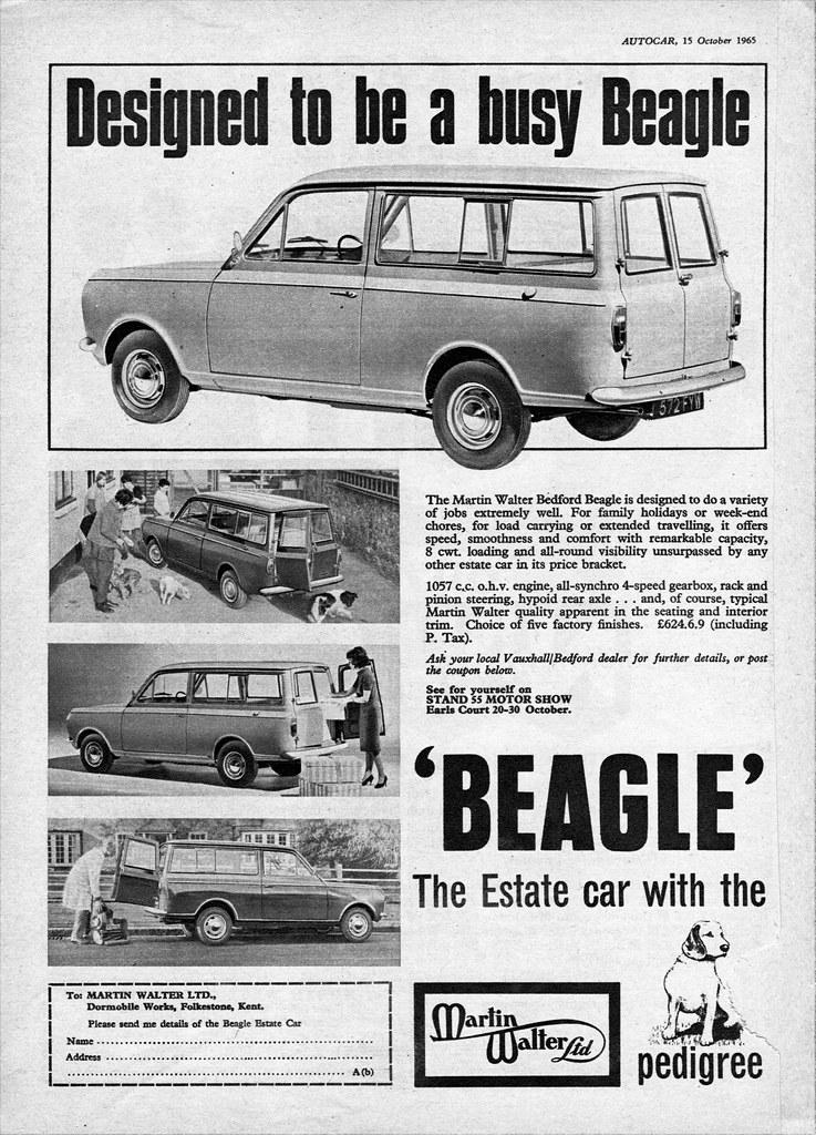 Walter Ltd 1965 bedford beagle by martin walter ltd martin walter lt flickr