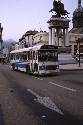 jhm 1990 0157 france clermont ferrand autobus renault flickr. Black Bedroom Furniture Sets. Home Design Ideas