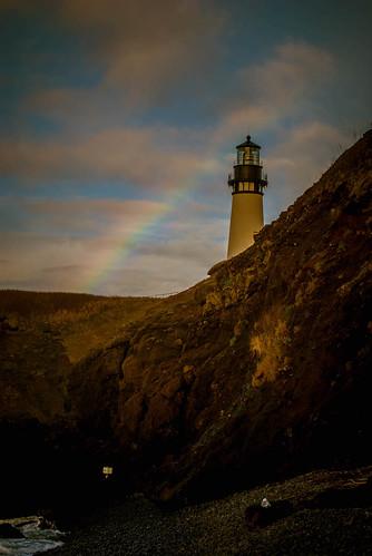 Yaquina Head Rainbow