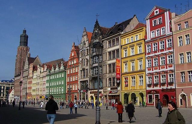 Puolan parhaat kaupungit | Wroclaw rynek