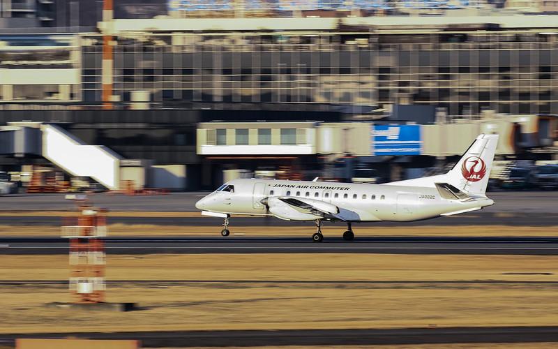 JA002C Japan Air Commuter 日本エアコミューター Saab 340B