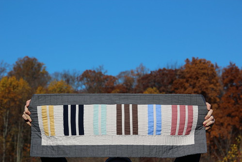 Piano Keys Mini Quilt