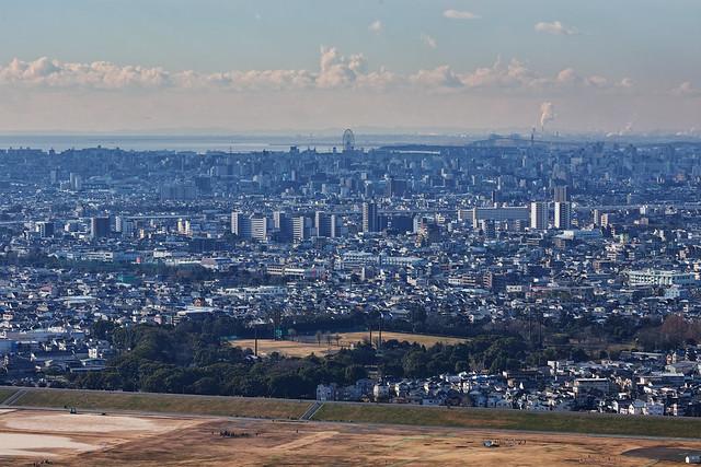 20170126_01_千葉県市川市のアイ・リンクタウン展望施設からの眺望