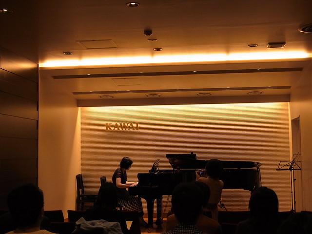 ピアノとデュオ