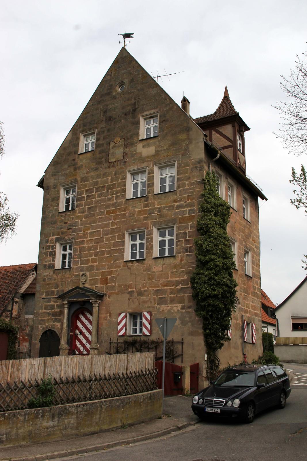Derzno, Renzenhof, Herrensitz, 2012