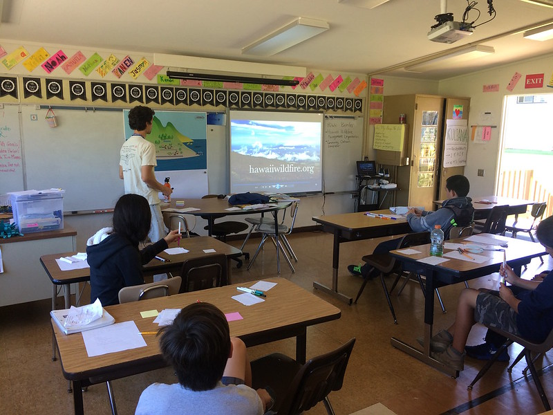 Waimea Middle School Career Day 2/15/17