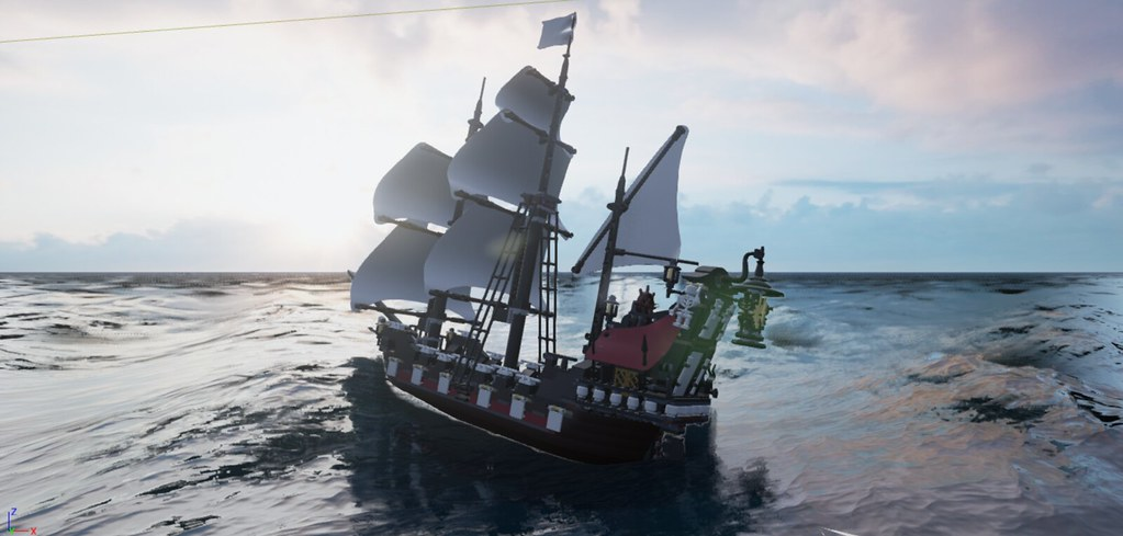 Mecabricks export model to Unreal Engine 4 - LEGO Digital