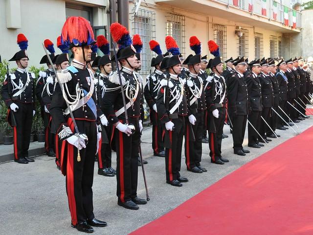 201 anniversario arma carabinieri