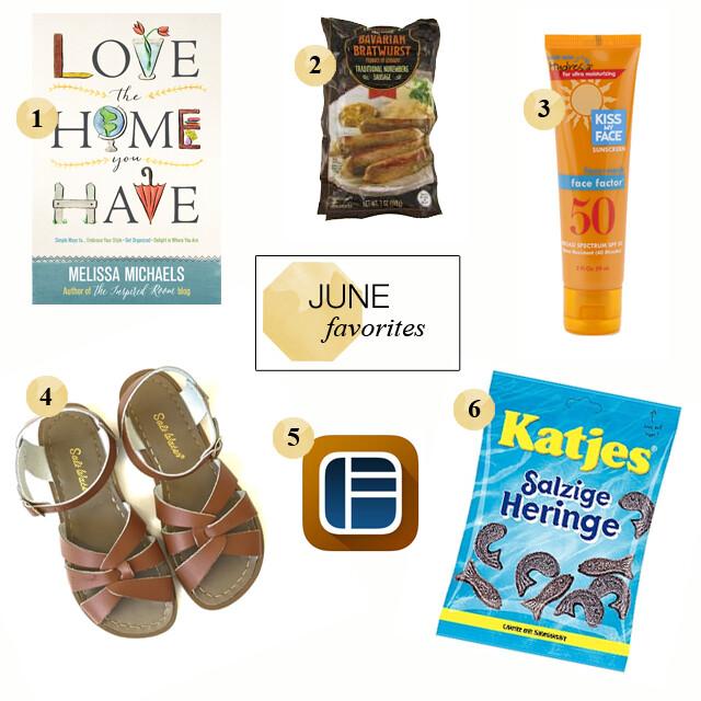 JuneFavorites2015