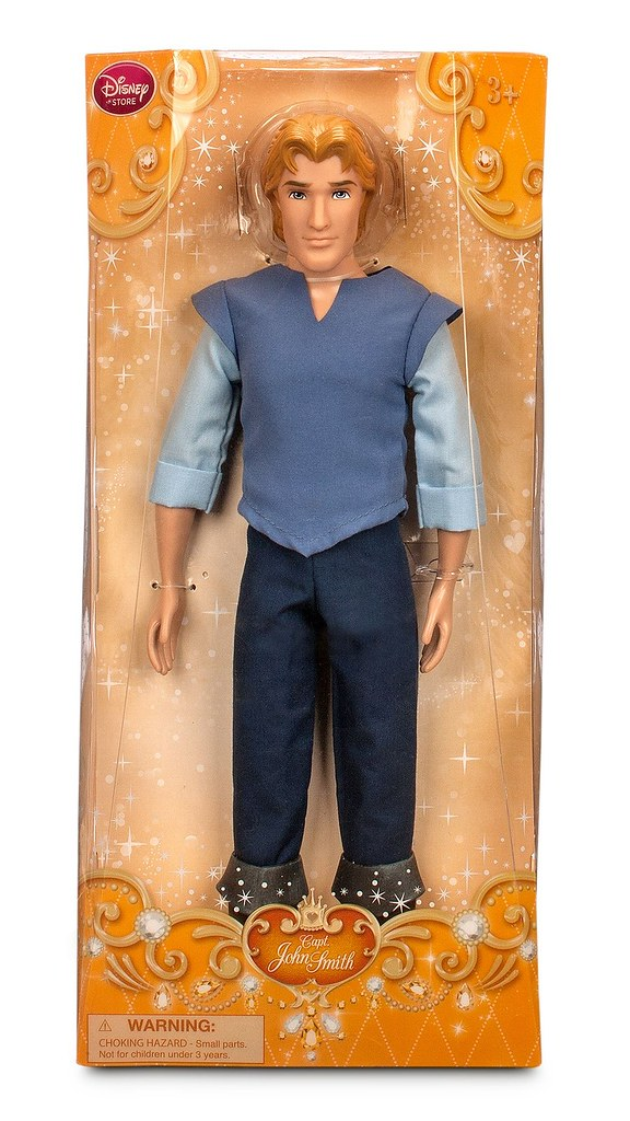 2015 Captain John Smith Classic Doll Pocahontas 12