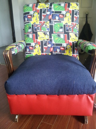 Transformers Chair, Upholstery,  After