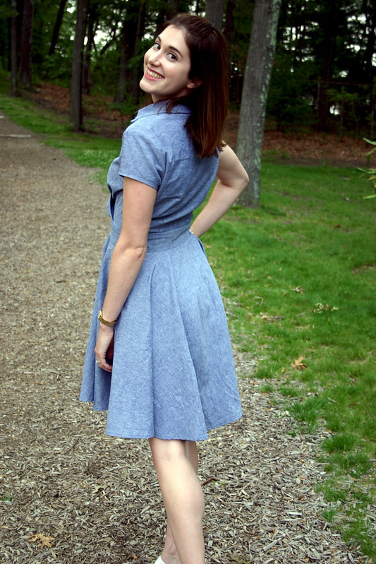 chambray dress 6