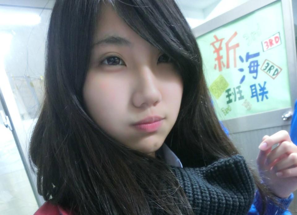 Koobii人氣嚴選128【新北高工-陳品蓁】-眼睛笑咪咪的正妹