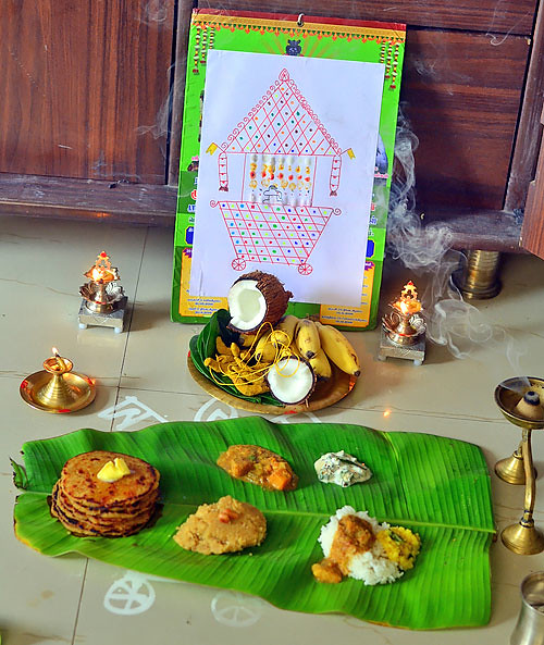 How to celebrate thiruvathirai at home